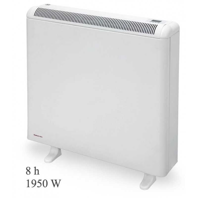 Gabarrón ECO308 PLUS - Acumulador de calor digital programable con wifi, 8 h, 1950 W