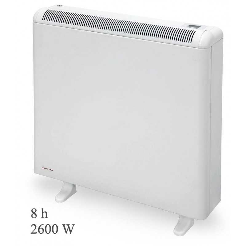 Gabarrón ECO408 PLUS - Acumulador de calor digital programable con wifi, 8 h, 2600 W