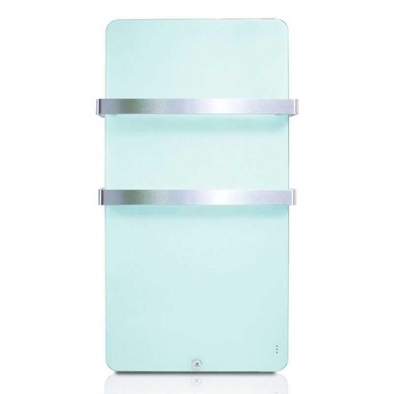 Haverland XTAL 6 - Toallero eléctrico de cristal, 600 W