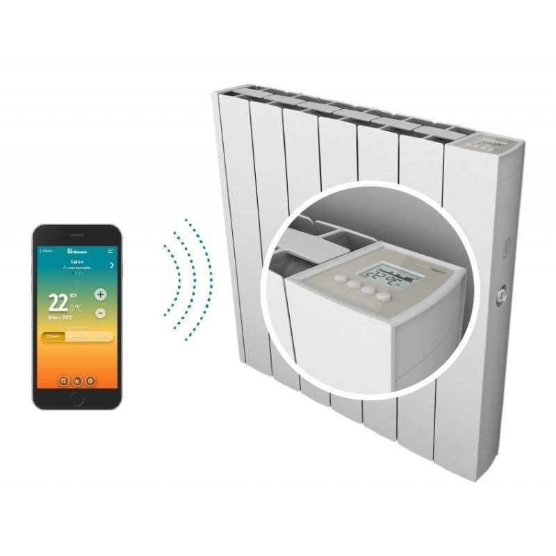 Ducasa IEM 3G Wifi 1250 - Emisor térmico con wifi, 1250 W
