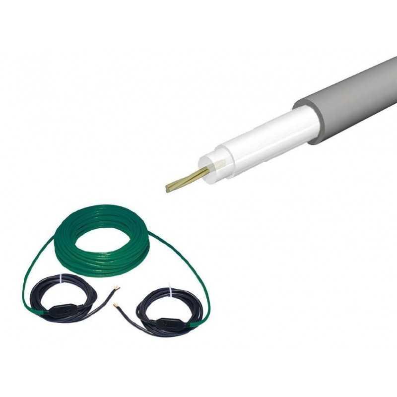 Cable calefactor mono conductor Ducasa 17MC SP (17 W/m a 230 V)