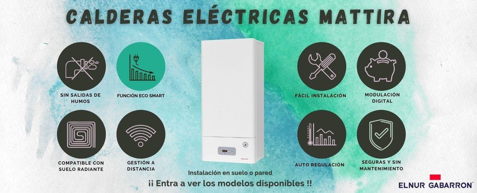 Calderas eléctricas Gabarrón Mattira
