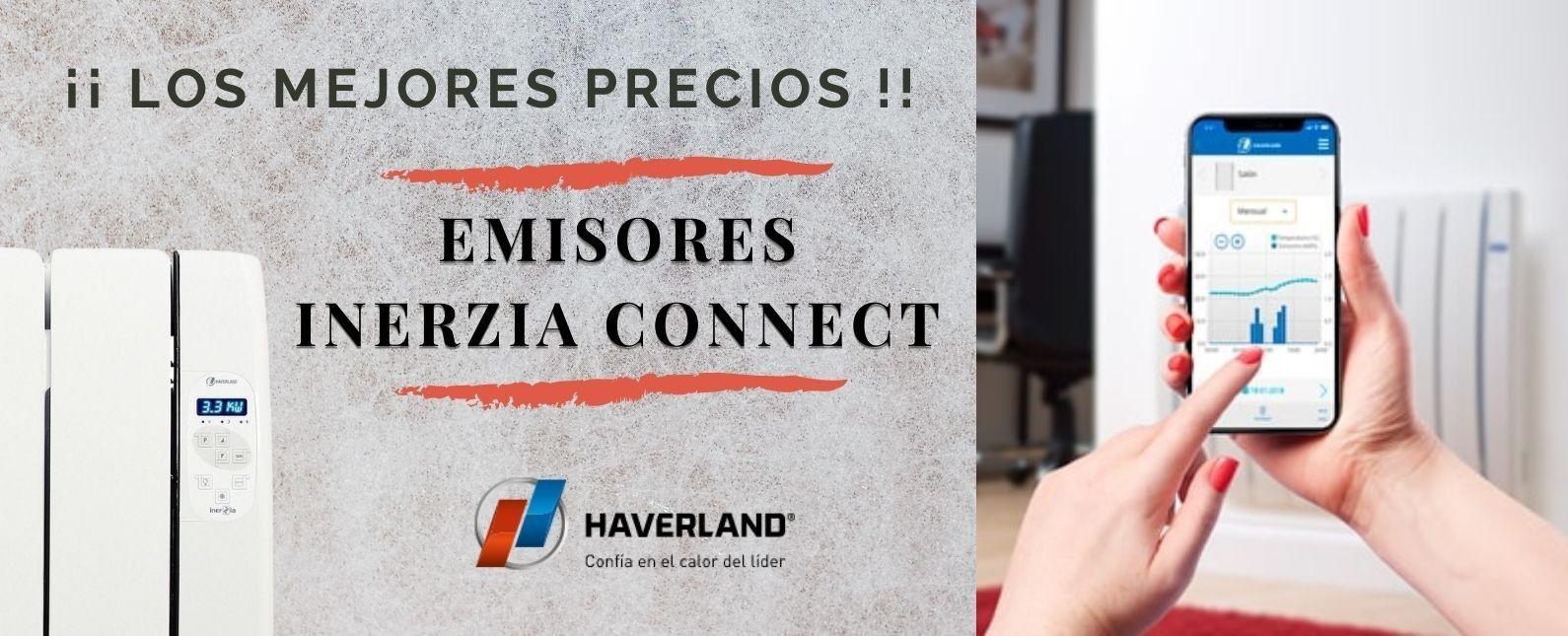 Emisores térmicos Haverland RCTTS Inerzia Connect